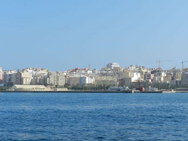 Ceuta saapuminen